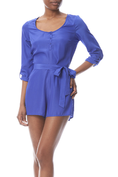Jack Patty Royal Blue Romper - Product List Image