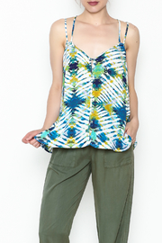 Jack Watercolor Print Top - Front cropped