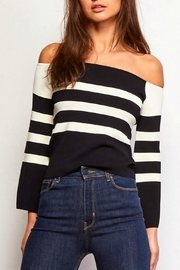 Jack by BB Dakota Alexandrine Striped Top - Front cropped