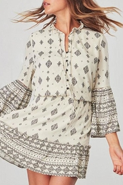 Jack by BB Dakota Andee Patterned Dress - Side cropped