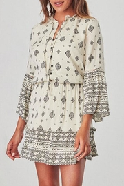 Jack by BB Dakota Andee Patterned Dress - Front cropped
