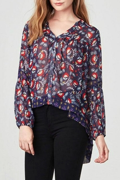 Jack by BB Dakota Andrea Floral Top - Product List Image