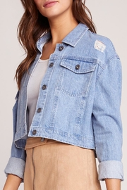 Jack by BB Dakota Billie Denim Jacket - Front full body