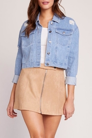 Jack by BB Dakota Billie Denim Jacket - Front cropped