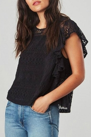 Jack by BB Dakota Black Lace Top - Product Mini Image