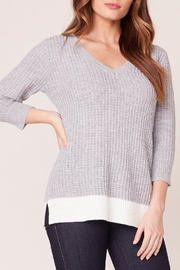 Jack by BB Dakota Block V-Neck Sweater - Product Mini Image