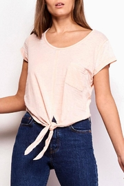 Jack by BB Dakota Blush Tie Tee - Product Mini Image