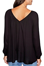 Jack by BB Dakota Boothe Lace-Up Top - Front full body