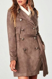 Jack by BB Dakota Brown Suede Jacket - Product Mini Image