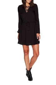 Jack by BB Dakota Char Lace Up Dress - Product Mini Image