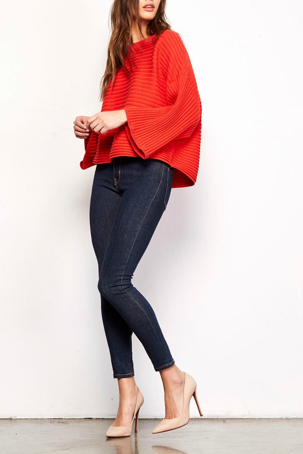 Jack by BB Dakota Claudel Red Sweater - Main Image