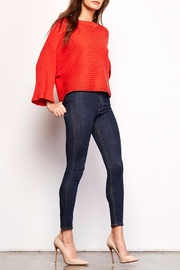 Jack by BB Dakota Claudel Red Sweater - Front full body