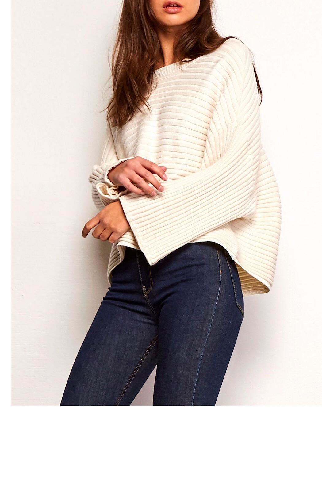 Jack by BB Dakota Claudel Wide-Sleeve Sweater - Front Cropped Image