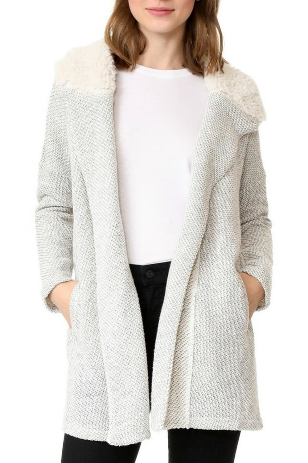 Jack by BB Dakota Connelly Fluffy Cardigan from New Jersey by Wink ...