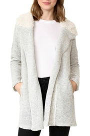 Jack by BB Dakota Connelly Fluffy Cardigan - Product Mini Image