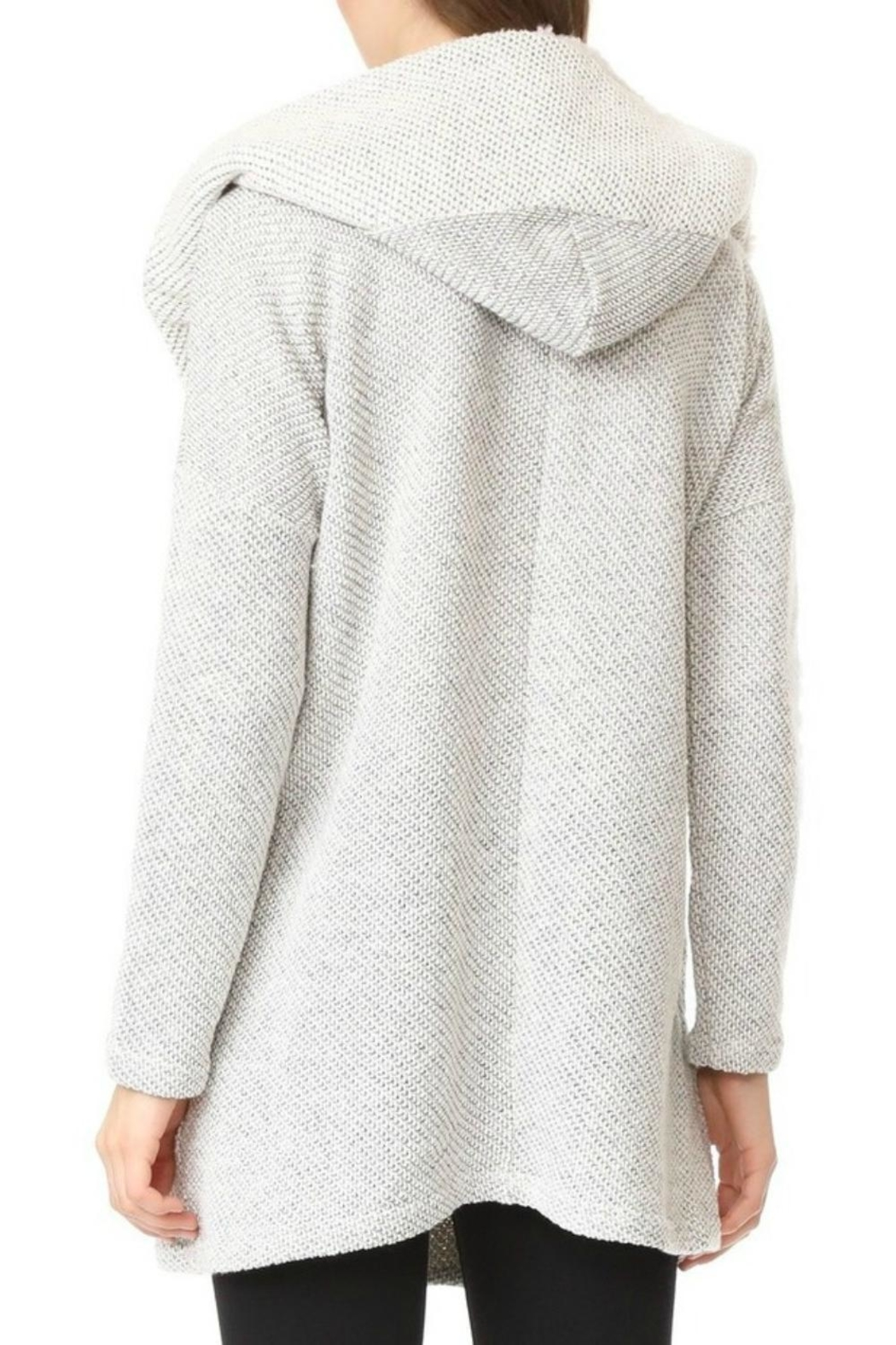 Jack by BB Dakota Connelly Fluffy Cardigan - Side Cropped Image
