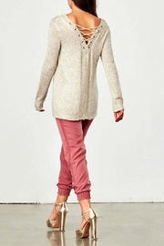 Jack by BB Dakota Cream Jackson Sweater - Front full body