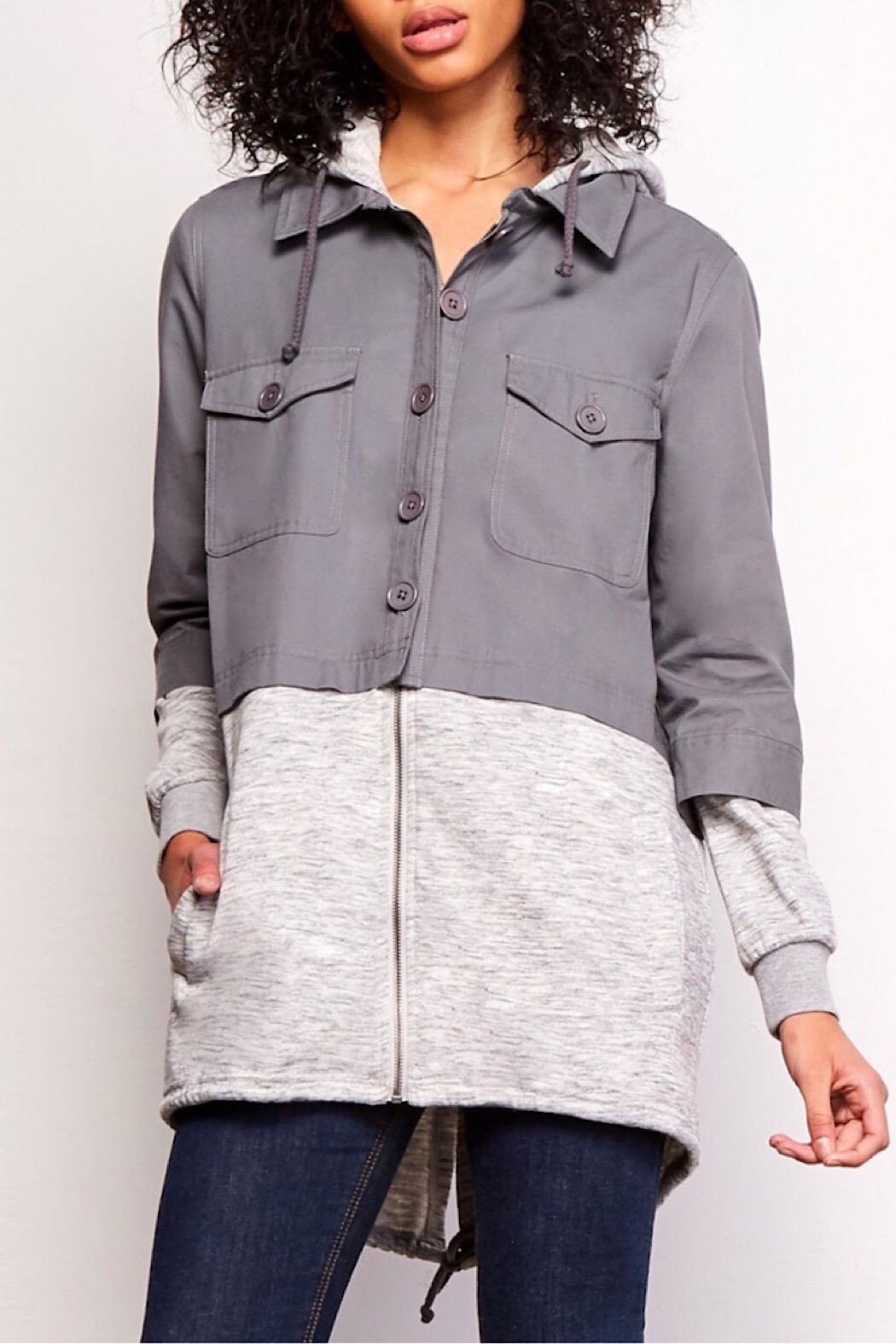 Jack by BB Dakota Curie Canvas Jacket - Main Image