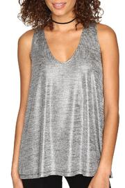 Jack by BB Dakota Denzel Foil Tank Top - Product Mini Image