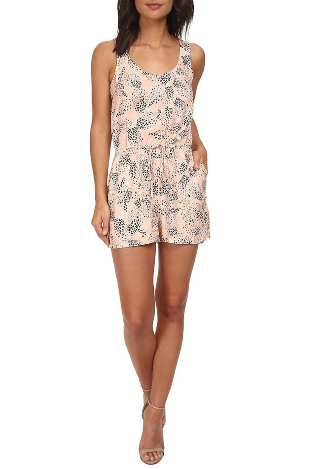 Jack by BB Dakota Dune Print Romper - Front Cropped Image