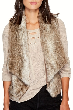 Jack by BB Dakota Dwight Faux Fur Vest - Product List Image