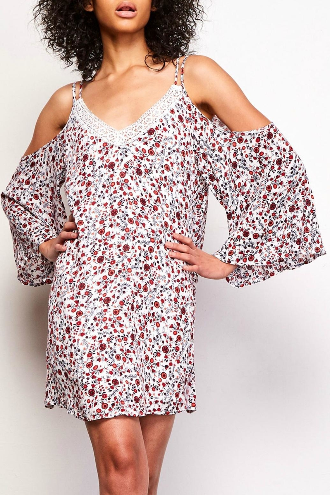 Jack by BB Dakota Floral Open Sleeve - Main Image