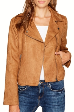 Jack by BB Dakota Johanness Faux Suede Jacket - Product List Image