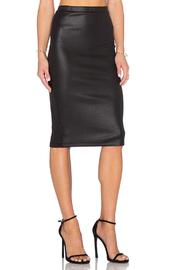 Jack by BB Dakota Kelan Snakeskin Skirt - Front full body