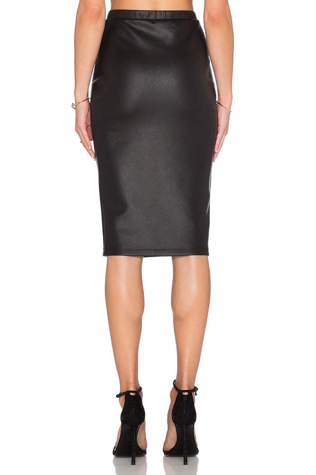 Jack by BB Dakota Kelan Snakeskin Skirt - Side Cropped Image