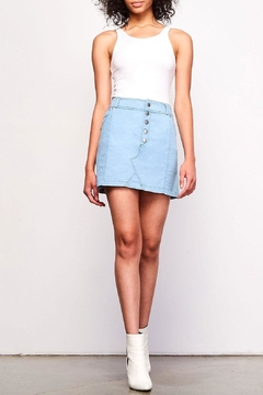 Shoptiques Product: Kesha Chambray Skirt
