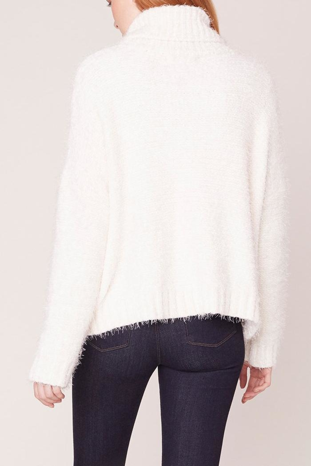 Jack by BB Dakota Kisses Cable-Knit Sweater - Back Cropped Image