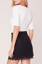 Jack by BB Dakota Lace Trim Skirt - Side cropped