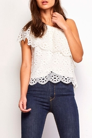 Jack by BB Dakota Lolita Eyelet Top - Product Mini Image