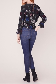 Jack by BB Dakota Midnight Bloom Top - Back cropped