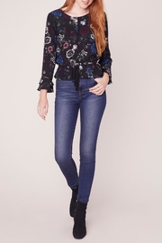 Jack by BB Dakota Midnight Bloom Top - Product Mini Image