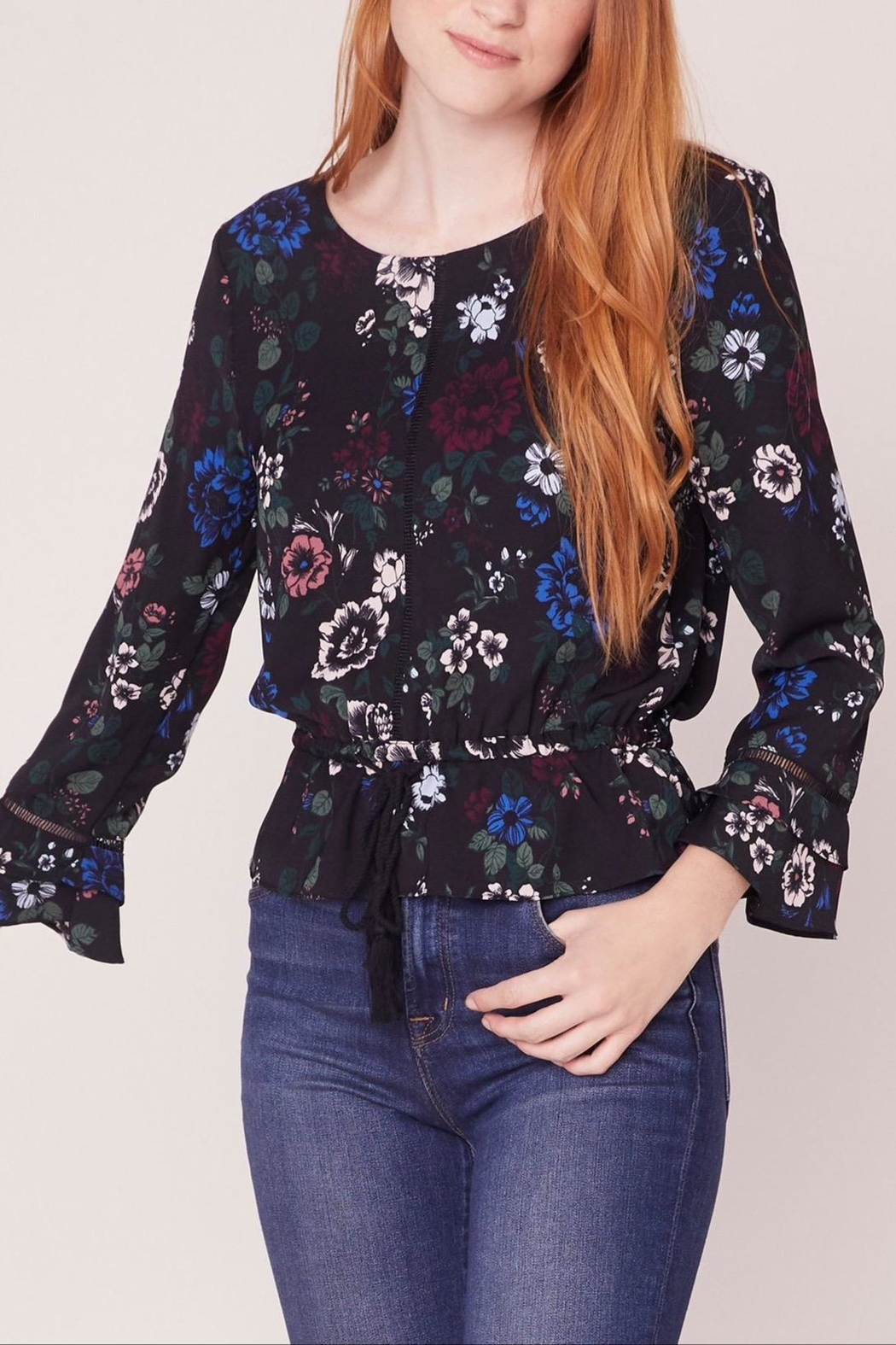 Jack by BB Dakota Midnight Bloom Top - Front Full Image