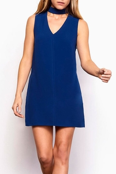 Shoptiques Product: Navy Chocker Dress