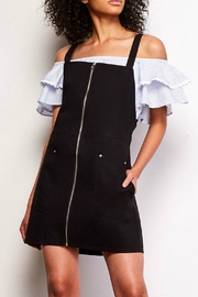 Jack by BB Dakota Overall Zipper Dress - Front cropped