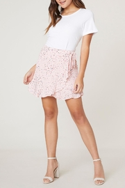 Jack by BB Dakota Reason-To-Party Wrap Skirt - Product Mini Image