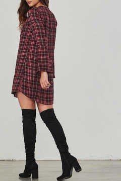 Jack by BB Dakota Red Plaid Dress - Alternate List Image