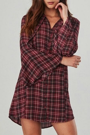 Jack by BB Dakota Red Plaid Dress - Product Mini Image