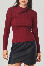 Jack by BB Dakota Ribbed Open Back Top - Product Mini Image