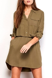 Jack by BB Dakota Shirt Dress - Product Mini Image