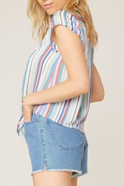 Jack by BB Dakota Shirt-Feelings Striped Blouse - Front full body
