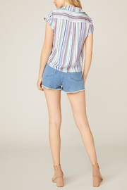 Jack by BB Dakota Shirt-Feelings Striped Blouse - Side cropped