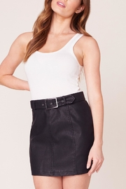 Jack by BB Dakota So-Edgy Vegan-Leather Skirt - Side cropped