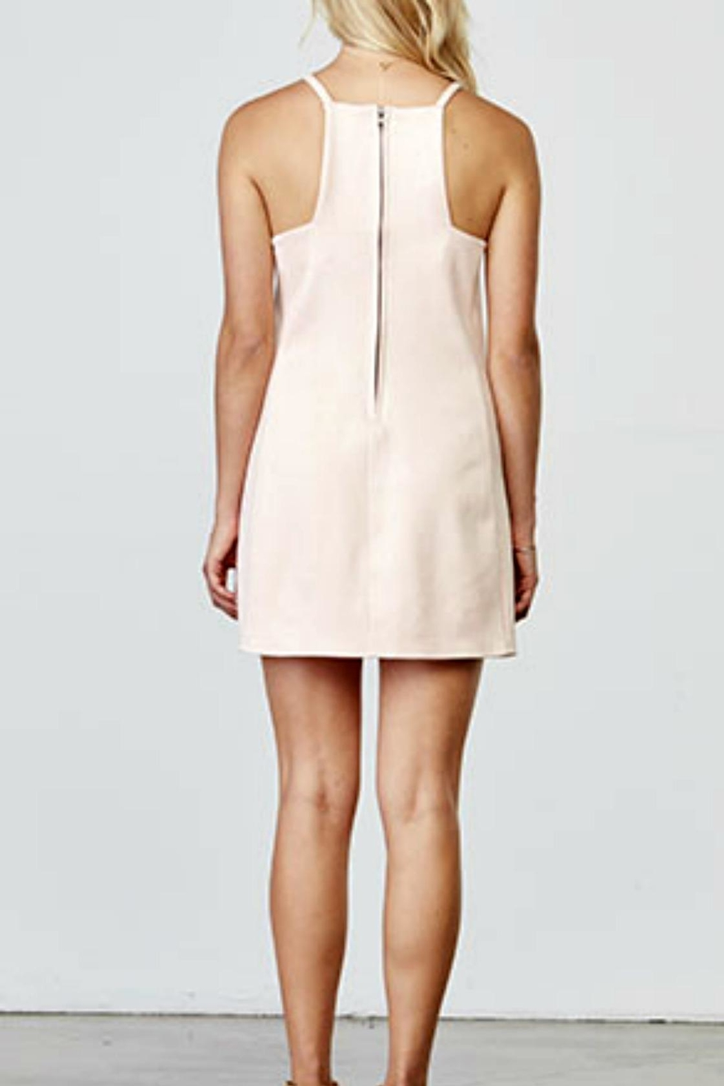 Jack by BB Dakota Soft Pink Dress - Side Cropped Image