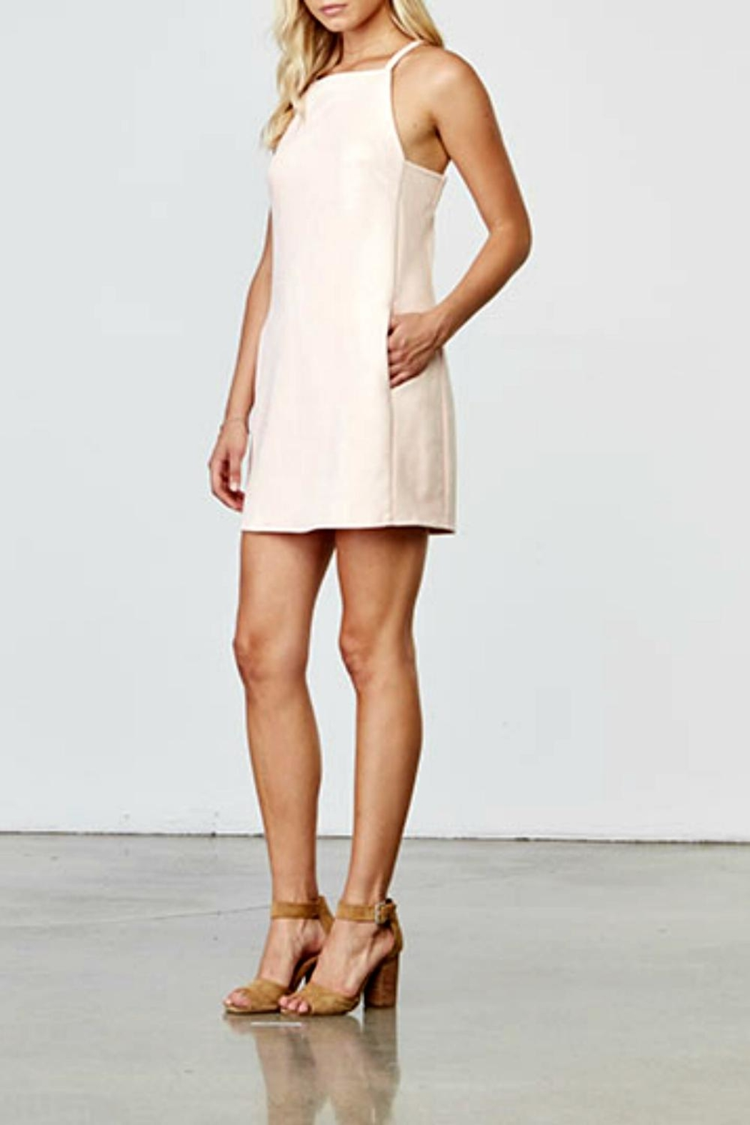 Jack by BB Dakota Soft Pink Dress - Front Full Image