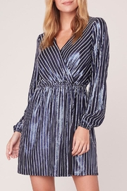 Jack by BB Dakota Stripe Sequin Dress - Product Mini Image