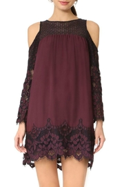 Jack by BB Dakota Two-Tone Lace Dress - Product Mini Image